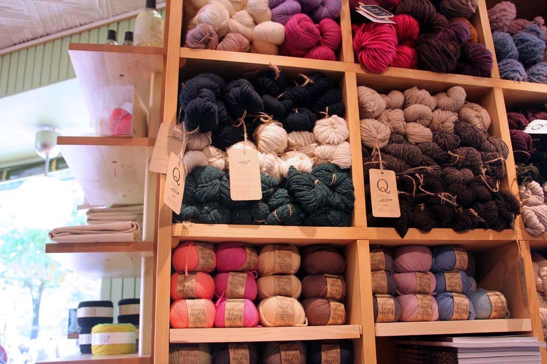 Boutique tricot et pelotes de laine