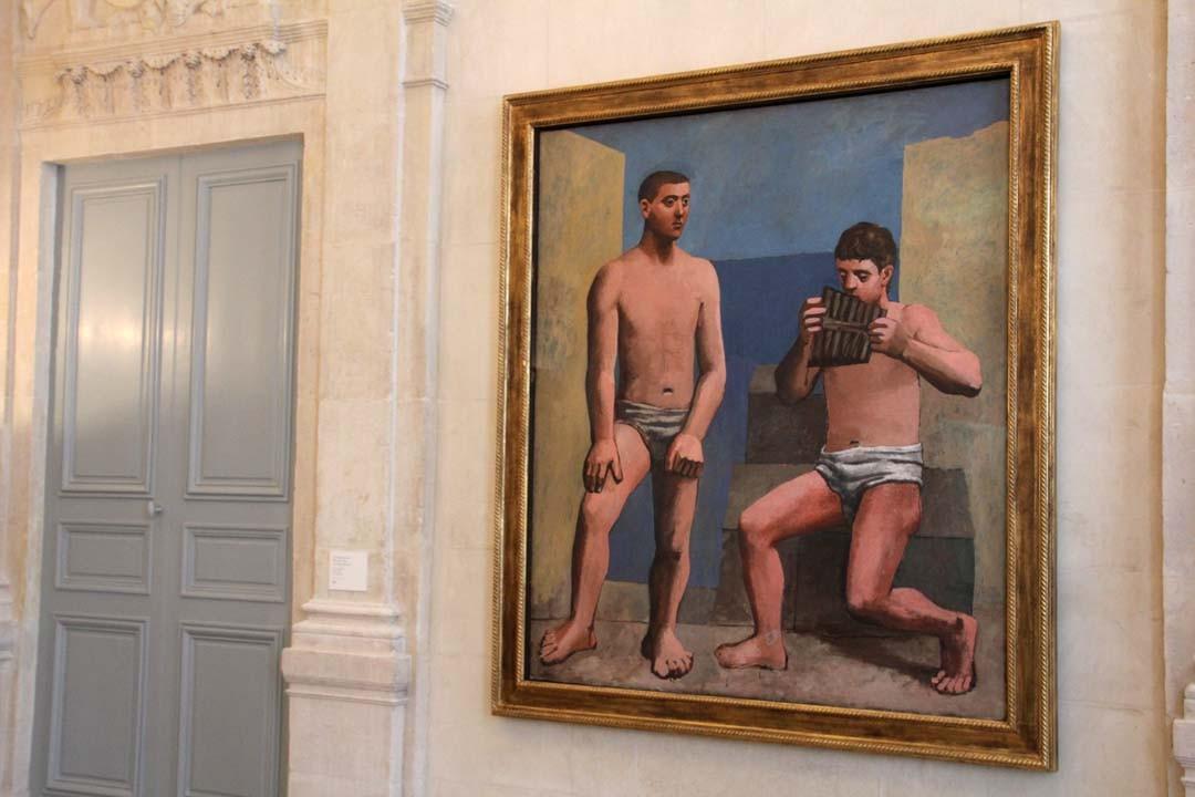 Flûte de Pan Musée Picasso à Paris