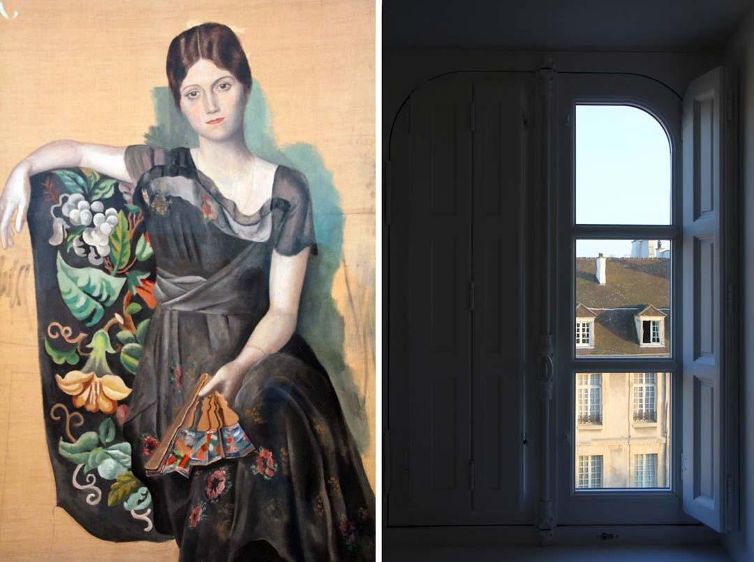 Portrait d'Olga Musée Picasso à Paris