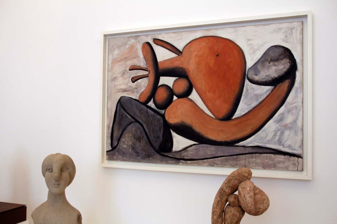 Musée Picasso à Paris sculptures
