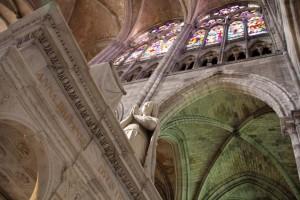 Intérieur de la Basilique Saint-Denis