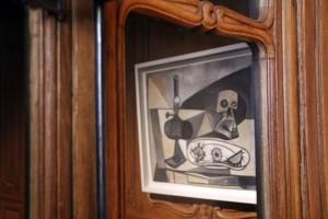 Reflet tableau Musée Picasso à Paris Hôtel Salé