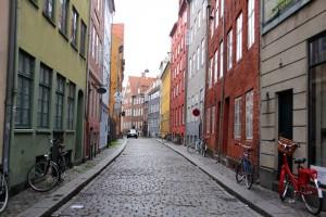 Rue danoise de Copenhague