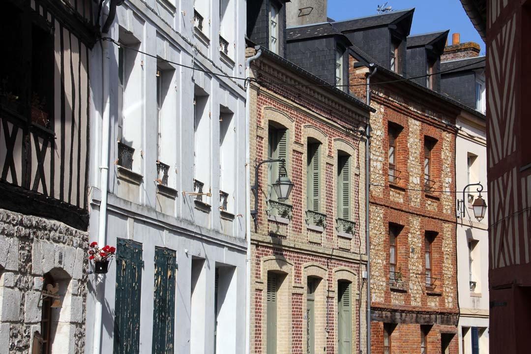 Centre-ville Honfleur Normandie