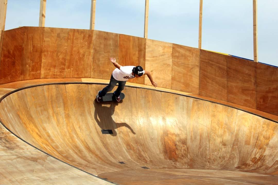 Skate ô Drome Voyage à Nantes 2015