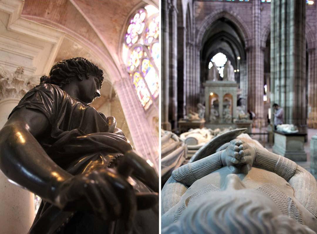Statue à la Basilique Saint-Denis