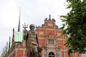 Statue de Neptune à Copenhague