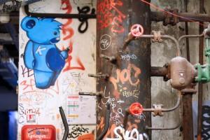 Tags Frigos à Paris Bercy