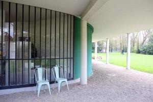 Courbure Villa Savoye Le Corbusier à Poissy