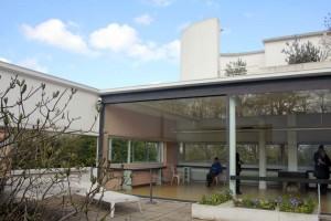 Salon La Villa Savoye Le Corbusier à Poissy