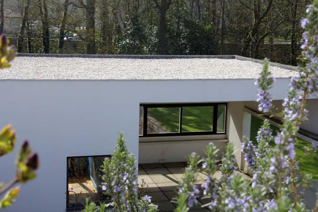 Toit terrasse La Villa Savoye Le Corbusier à Poissy