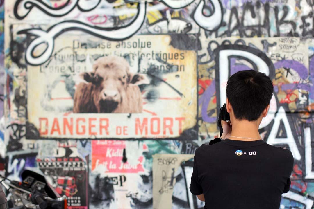 Visite Frigos Tags à Paris Bercy