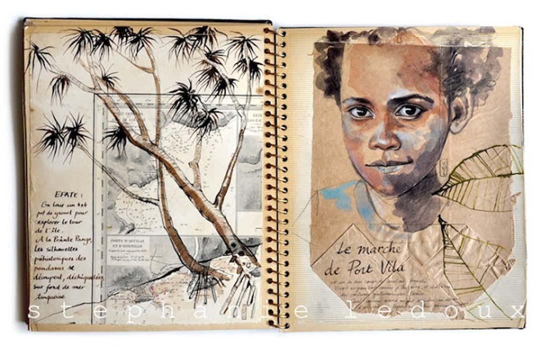 Carnet de Voyage Stéphanie Ledoux