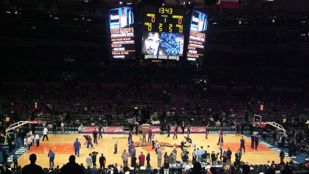 Match Basket au Madison Square Garden New York