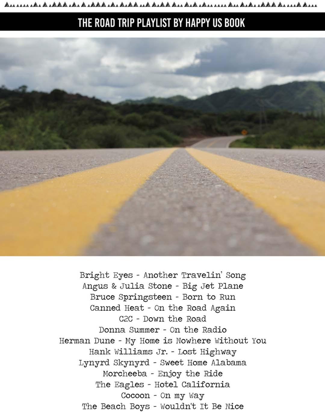 Roadtrip playlist
