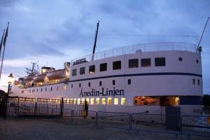 Anedin Hotel Stockholm boat