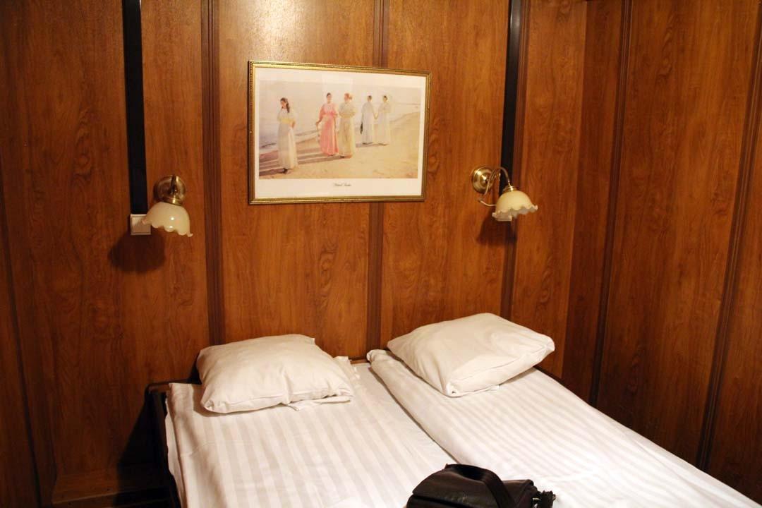 Dormir dans une cabine de bateau à Stockholm