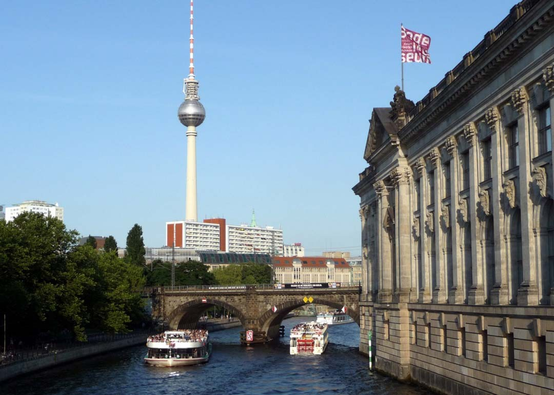 La Spree à Berlin