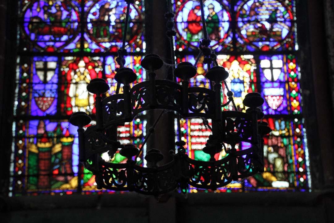 Vitrail Cathédrale Notre Dame d'Amiens