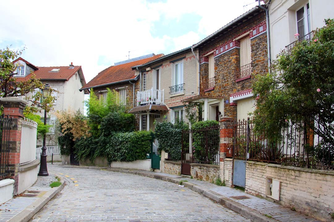 Village de Charonne à Paris