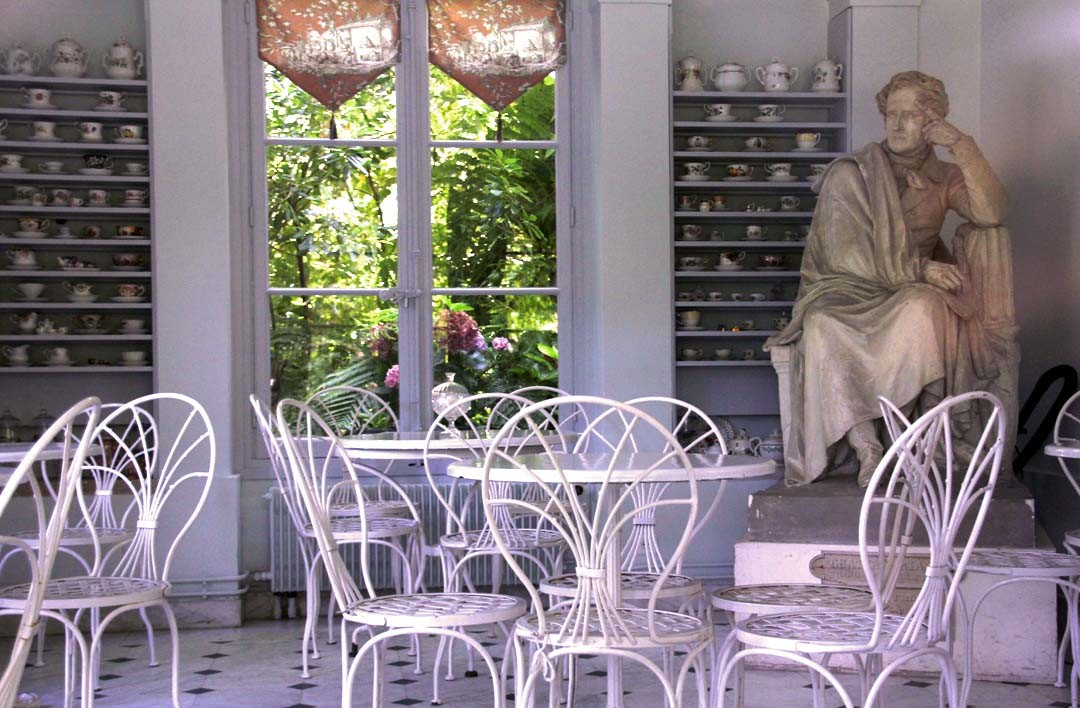 Maison de Chateaubriand à Chatenay-Malabry Salon de thé