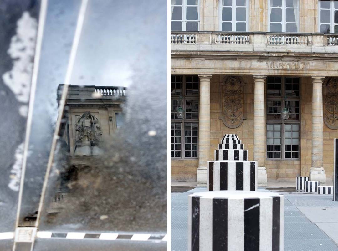 Colonnes de Buren à Paris