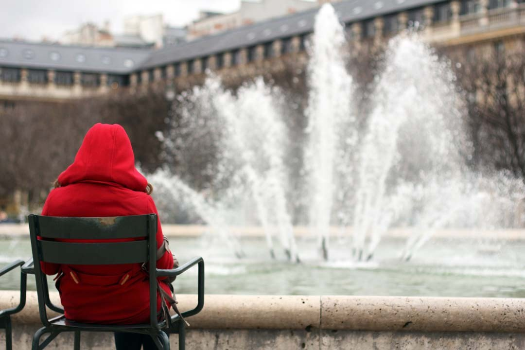 Jardin du Palais Royal à Paris