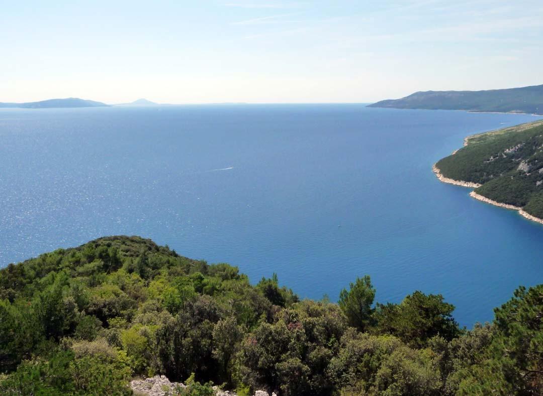 fjord de Lim en Croatie