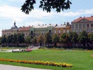 Zagreb en Croatie