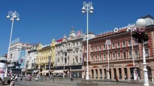 place Ban Jelacic à Zagreb