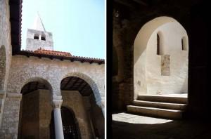 basilique Euphrasienne de Porec en Croatie
