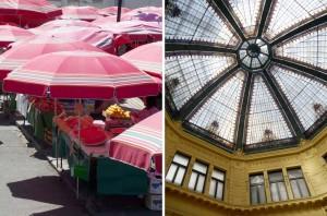 Marché Dolac Zagreb en Croatie