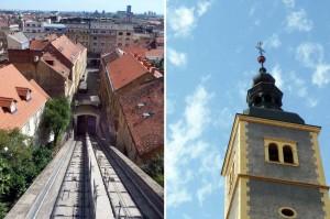 Funiculaire de Zagreb en Croatie