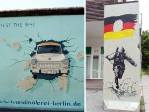 East Side Gallery à Berlin