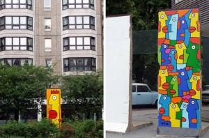 Fragments Mur de Berlin