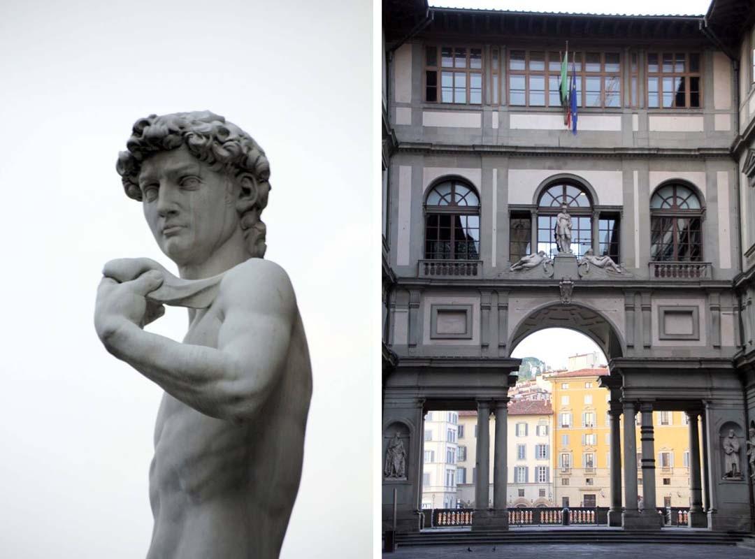 Galerie des Offices à Florence
