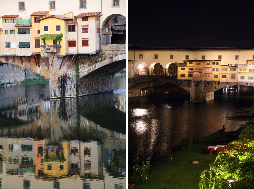 Ponte Vecchio by night