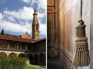 cloître à Florence