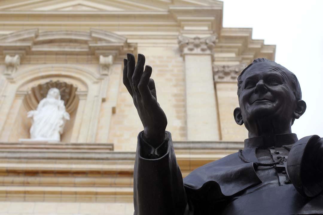 L'île de Gozo à Malte - Mdina cathédrale