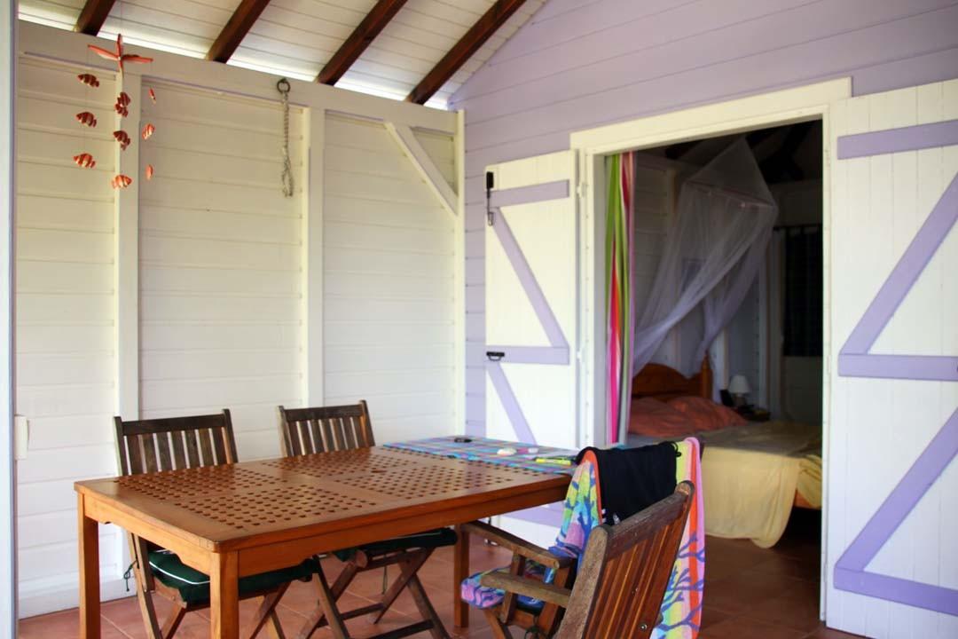 Hôtel bungalow en Guadeloupe