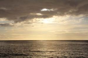Coucher de soleil en Guadeloupe