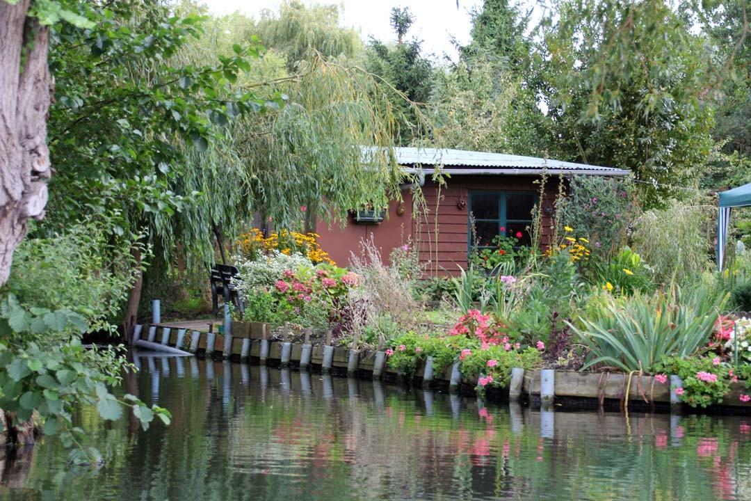 Jardin flottant à Amiens