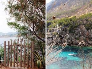 Crique turquoise à Ibiza