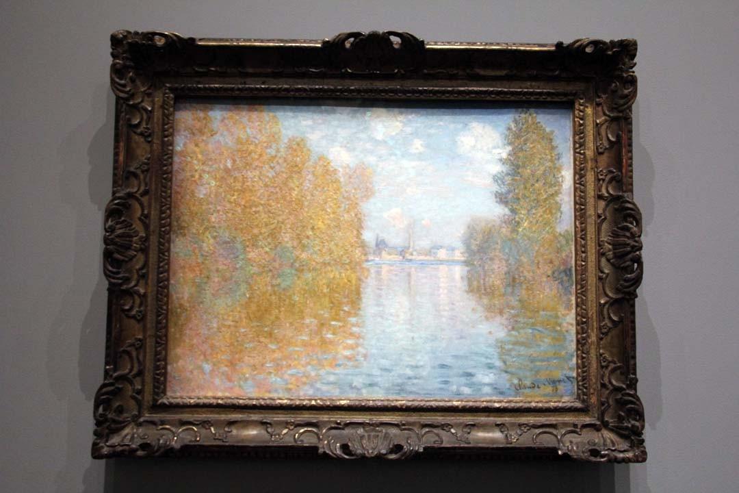 Monet - Effets d'automne à Argenteuil