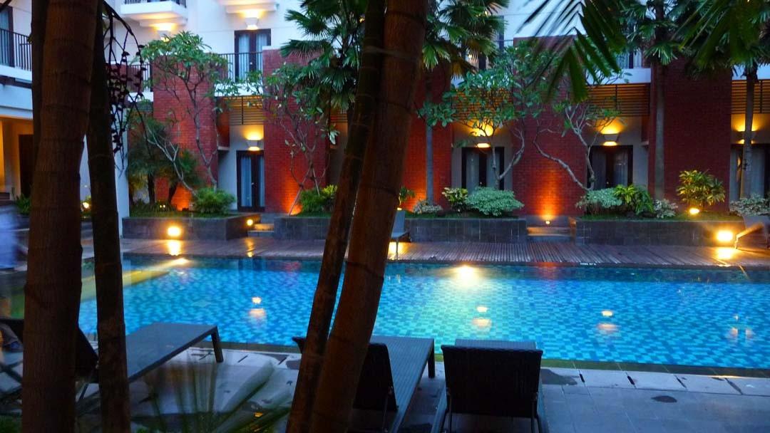 Piscine hôtel Java