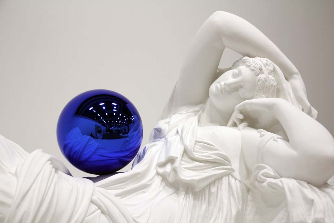 Exposition Jeff Koons Gazing Ball