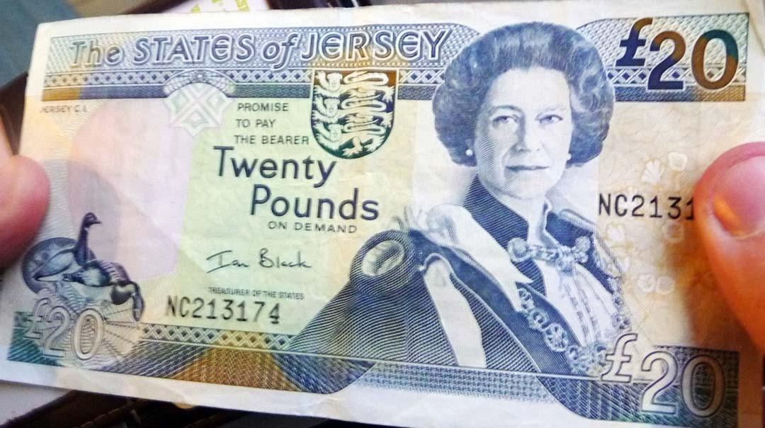 Monnaie Jersey