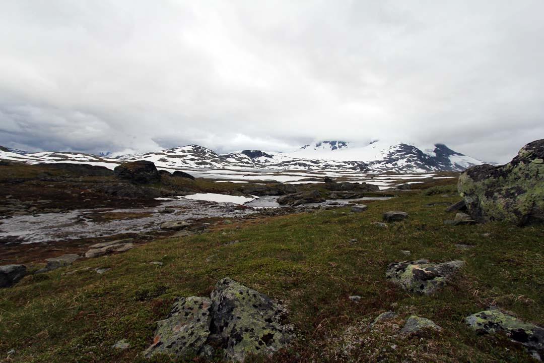 Montagnes du Jotunheimen en Norvège
