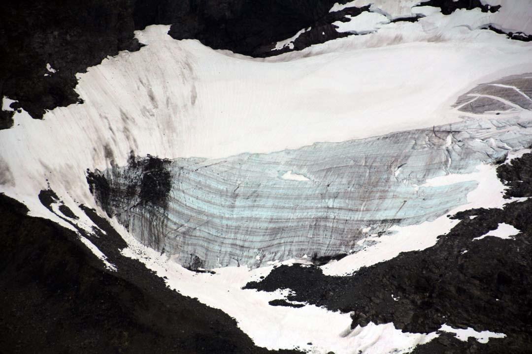 Glacier Montagnes du Jotunheimen en Norvège