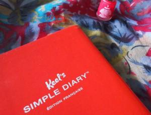 Keel's simple diary
